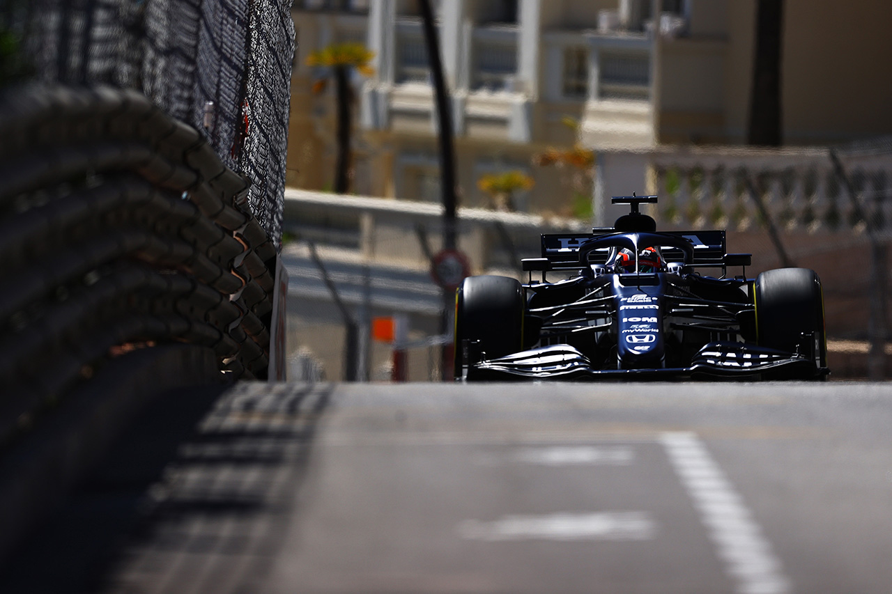 【速報】 F1モナコGP FP2 結果:マックス・フェルスタッペンは4番手。角田裕毅はウォール接触で半分で切り上げ