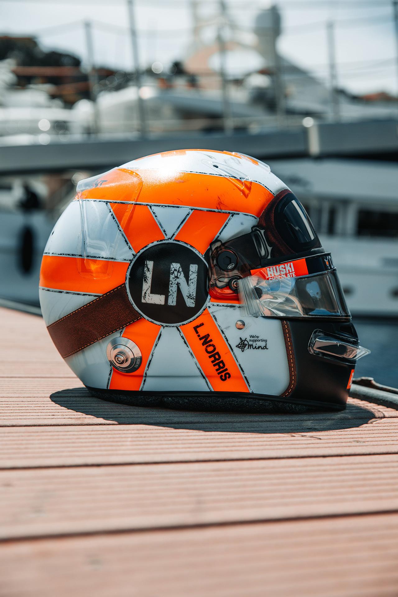 ランド・ノリス F1モナコグランプリ ヘルメット