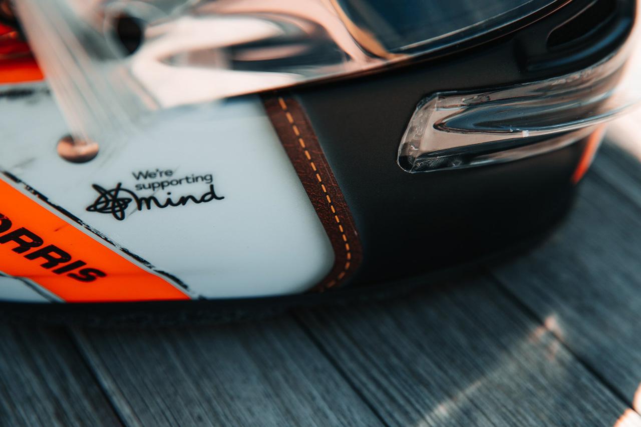 ランド・ノリス F1モナコグランプリ スペシャルヘルメット