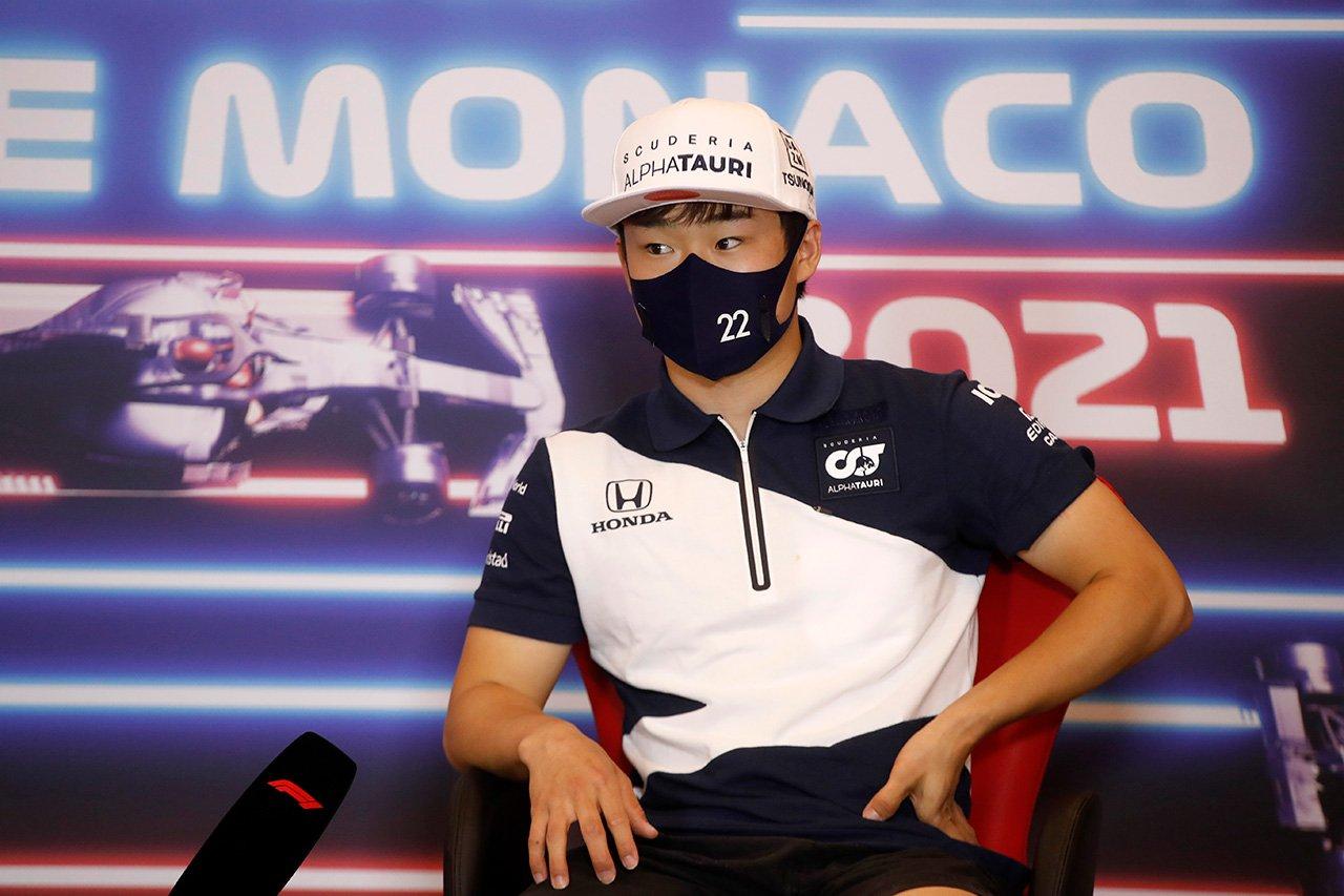 角田裕毅 「スペインでの言動を後悔している…二度と繰り返したくない」 / アルファタウリ・ホンダ F1モナコGP 水曜記者会見