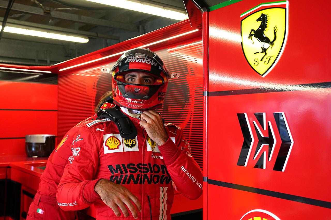 カルロス・サインツ、2番手タイムも「まだプラクティスにすぎない」 / フェラーリ F1モナコGP 木曜フリー走行