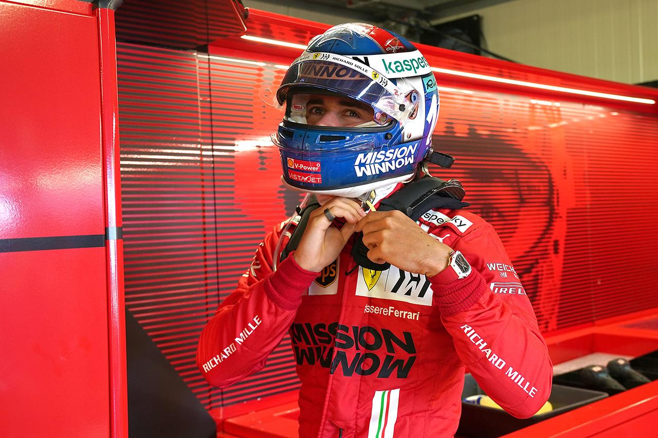 シャルル・ルクレール、首位発進は「驚きだけど夢中になってはいけない」 / フェラーリ F1モナコGP 木曜フリー走行