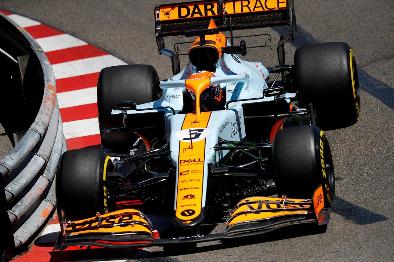 ダニエル・リカルド 「今日は少し行き詰った。やるべき作業がある」 / マクラーレン F1モナコGP 木曜フリー走行