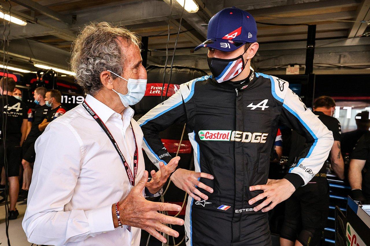 エステバン・オコン 「まだマシンを限界までプッシュできていない」 / アルピーヌ F1モナコGP 木曜フリー走行