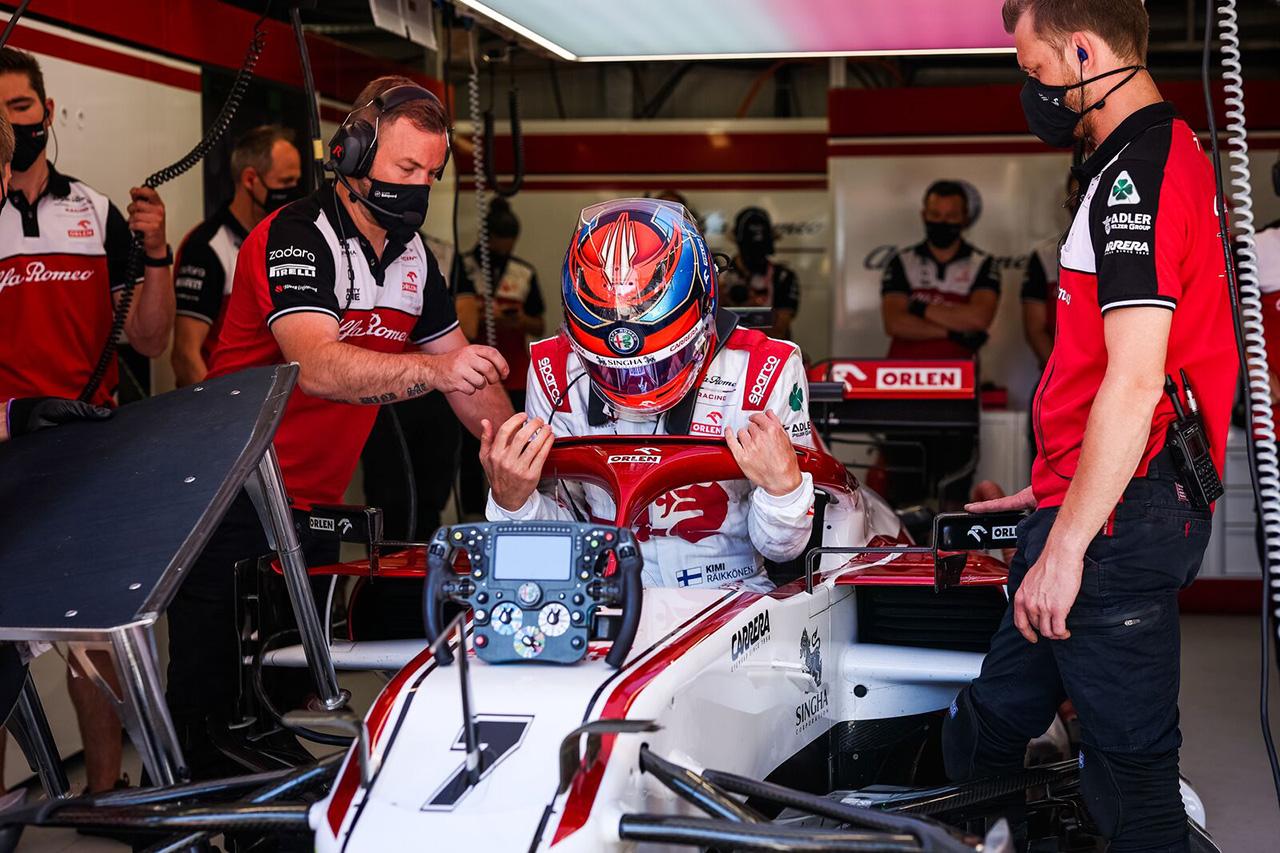 キミ・ライコネン 「いい感じだけど、土曜日にどの位置にいるかが重要」 / アルファロメオ F1モナコGP 木曜フリー走行