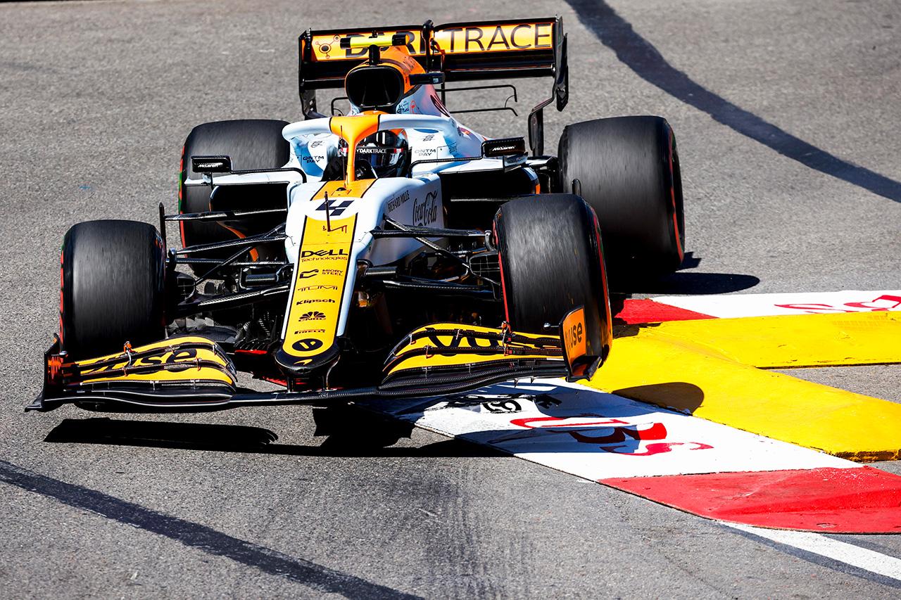 ランド・ノリス 「予選にむけてもっとロックを解錠できる部分がある」 / マクラーレン F1モナコGP 木曜フリー走行