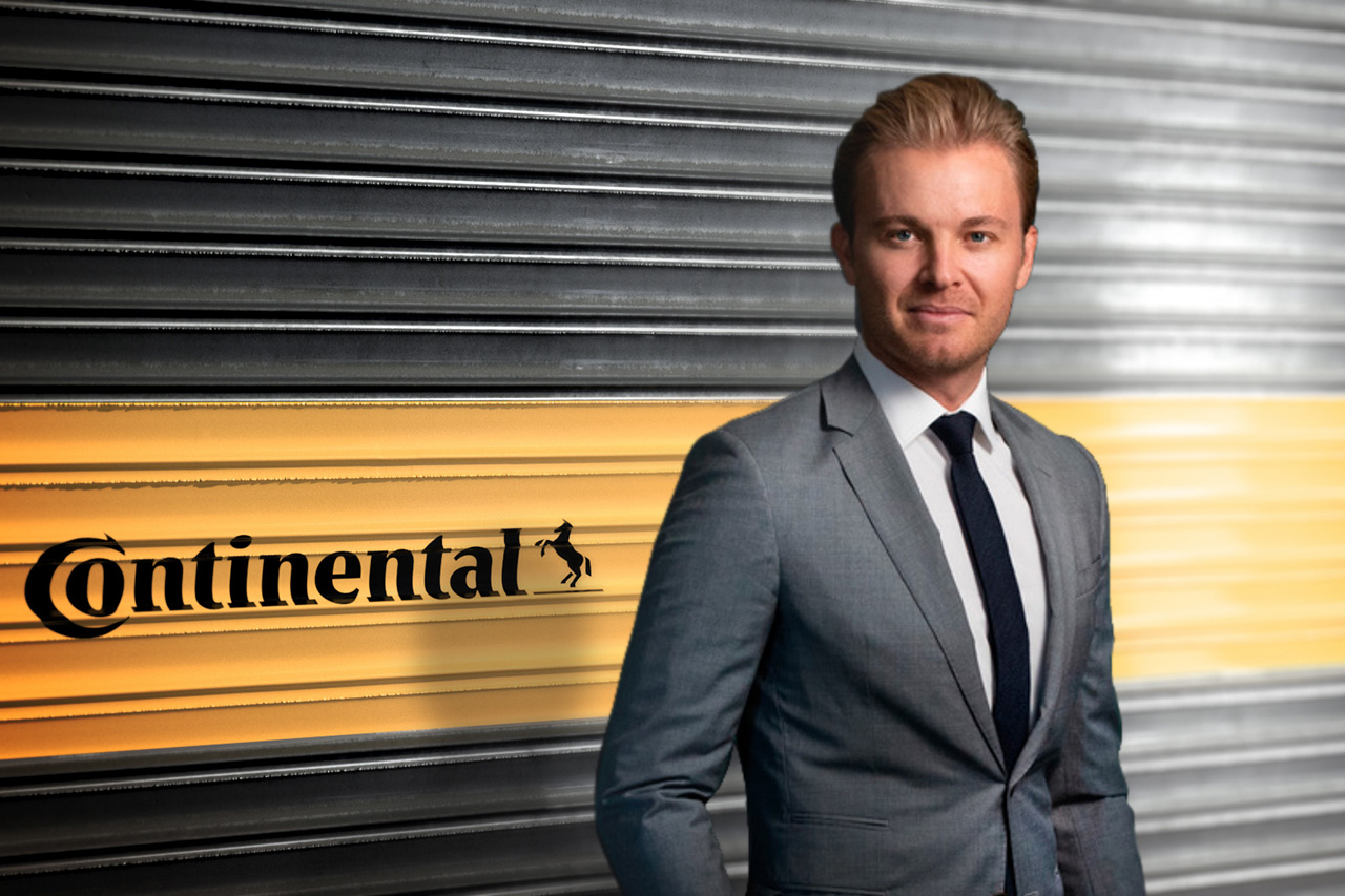 元F1王者ニコ・ロズベルグ、コンチネンタルの新ブランド・アンバサダーに就任