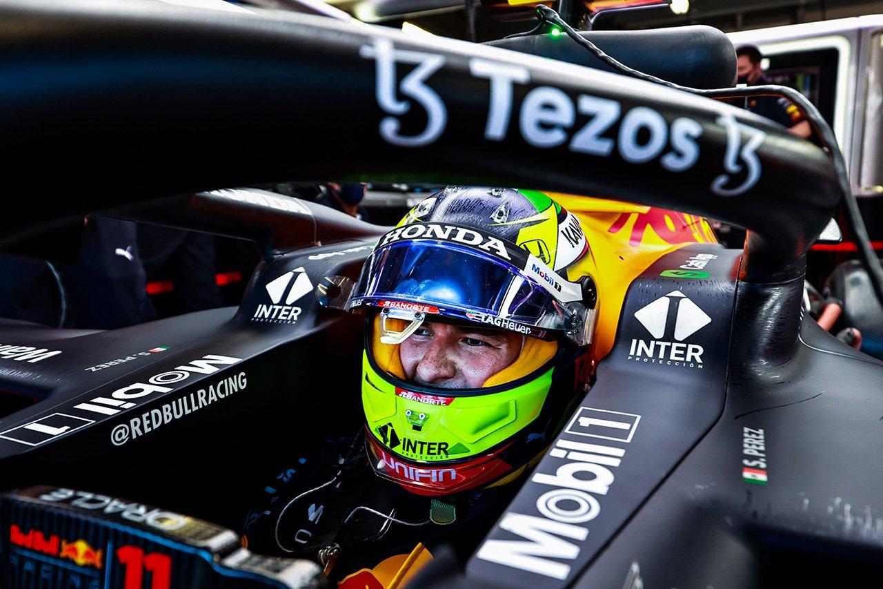 セルジオ・ペレス 「ショートランが課題。フェラーリ勢は手強そう」 / レッドブル・ホンダ F1モナコGP 木曜フリー走行