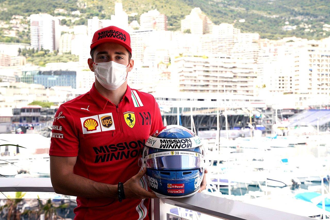 2021年 F1モナコGP:スペシャルヘルメット ギャラリー(1)