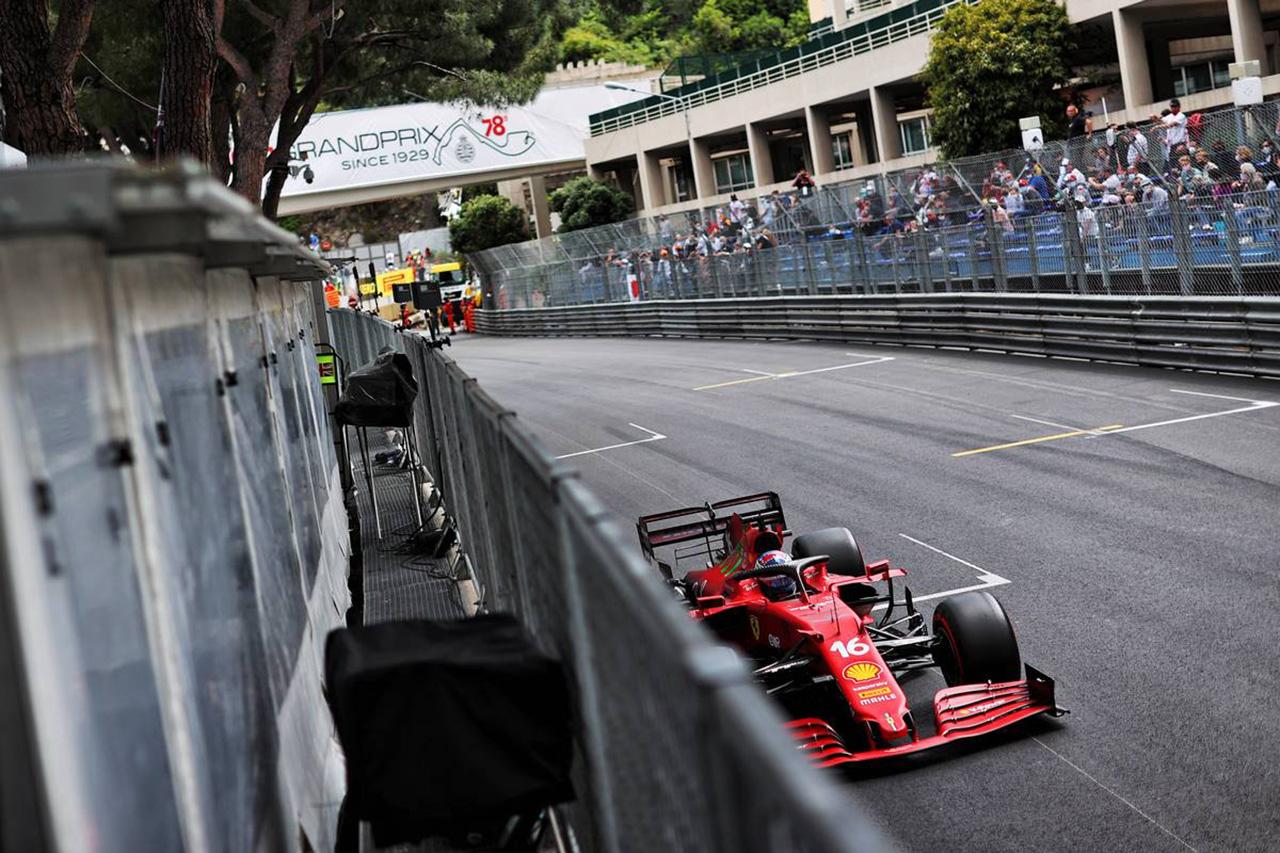 F1モナコGP 予選:シャルル・ルクレールがポール獲得もクラッシュ。レッドブルF1のフェルスタッペンが2番グリッド