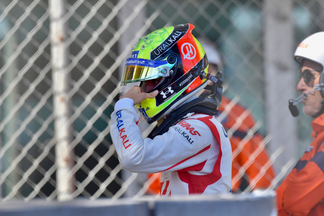 ミック・シューマッハ、FP3でのクラッシュにより予選出場を断念 / F1モナコGP