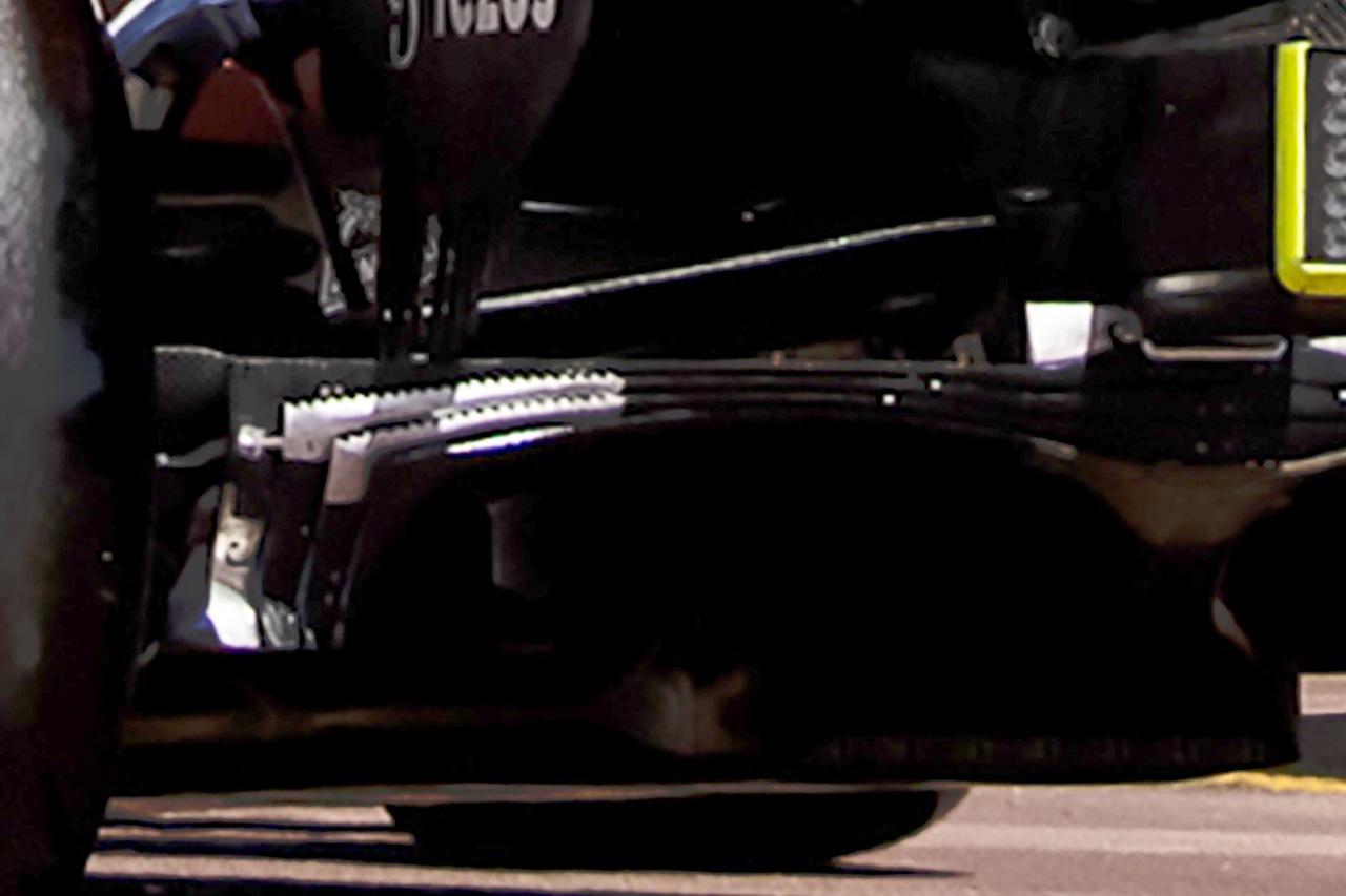 レッドブル・ホンダ RB16B ディフューザー上 / F1モナコGP
