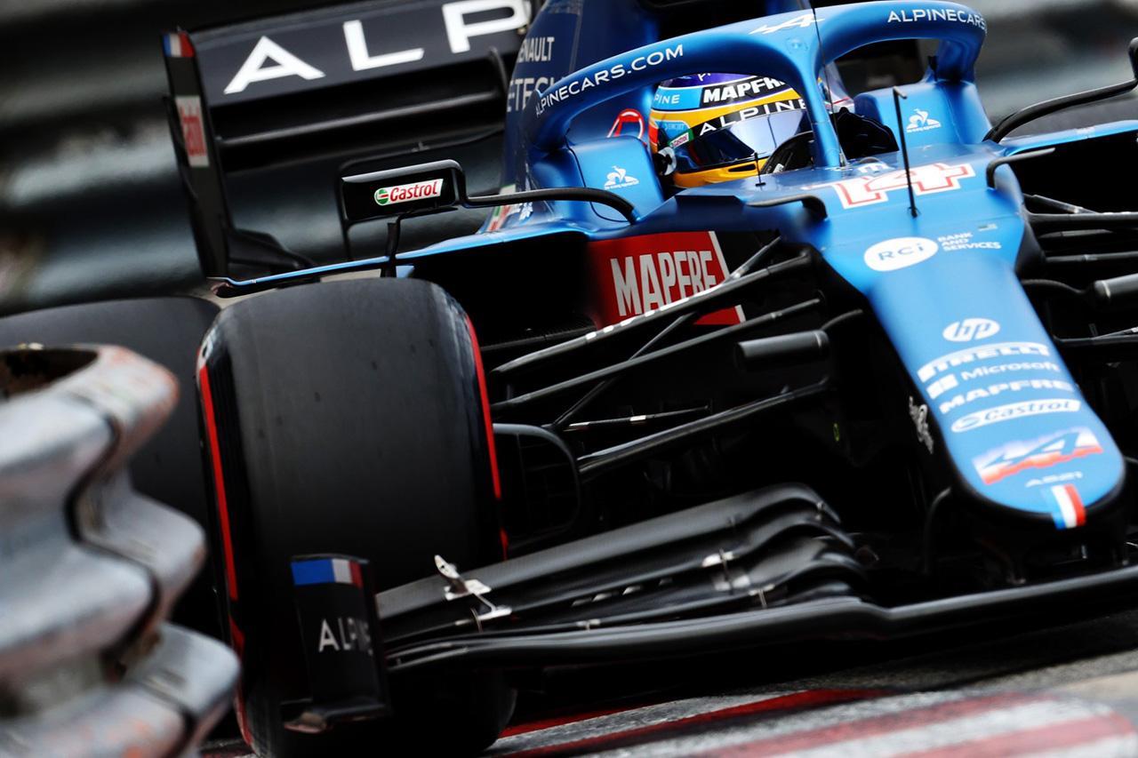 フェルナンド・アロンソ、F1復帰後初のQ1敗退「ペースがなかった」 / アルピーヌ F1モナコGP 予選