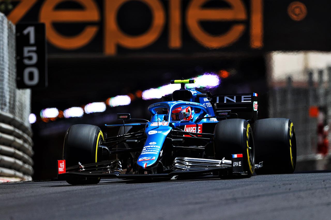 エステバン・オコン 「11番手はおそらく現状ではベストな結果」 / アルピーヌ F1モナコGP 予選