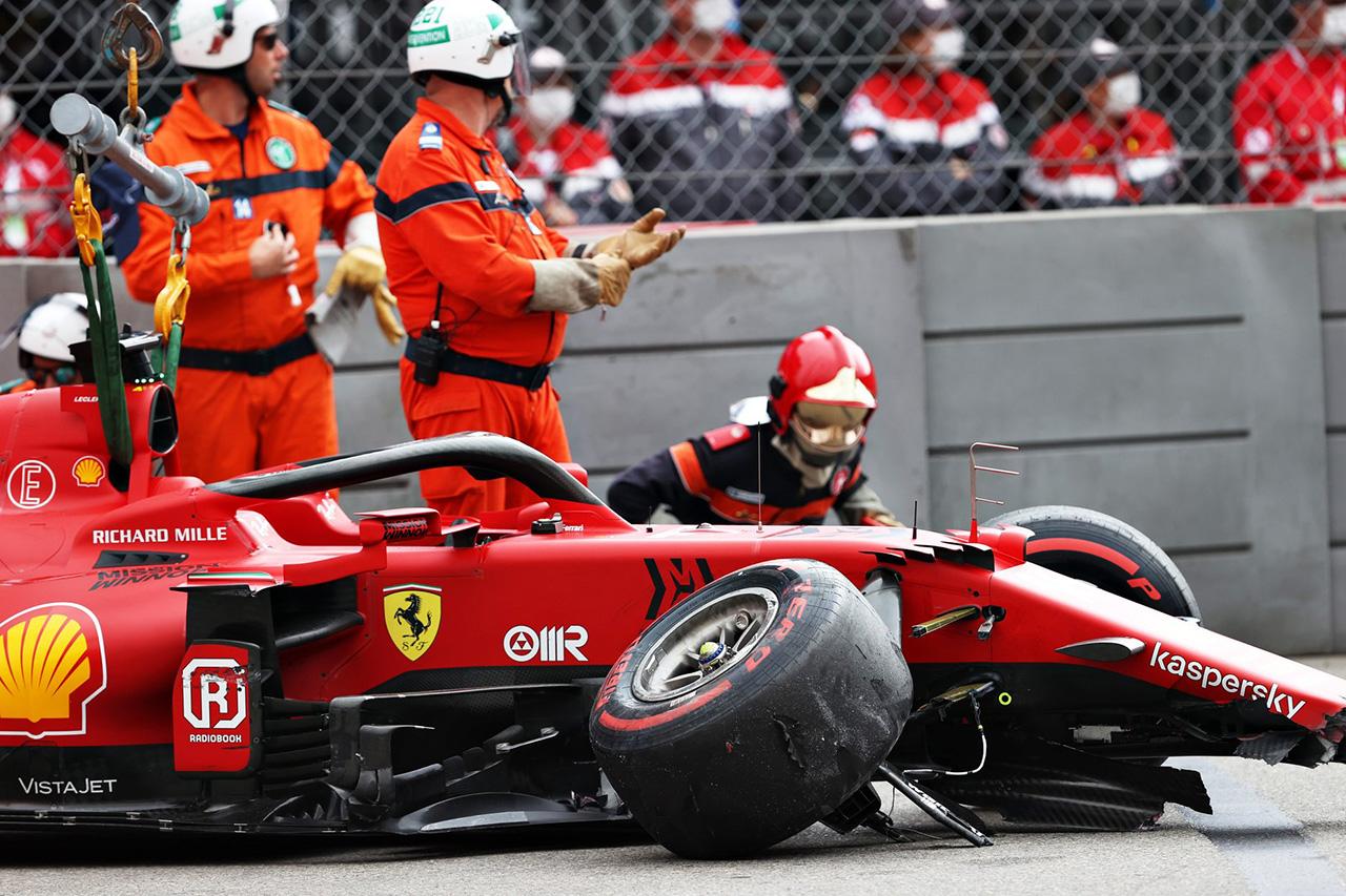 シャルル・ルクレール、ギアボックスの初期調査では深刻な損傷はなし / フェラーリ F1モナコGP 予選