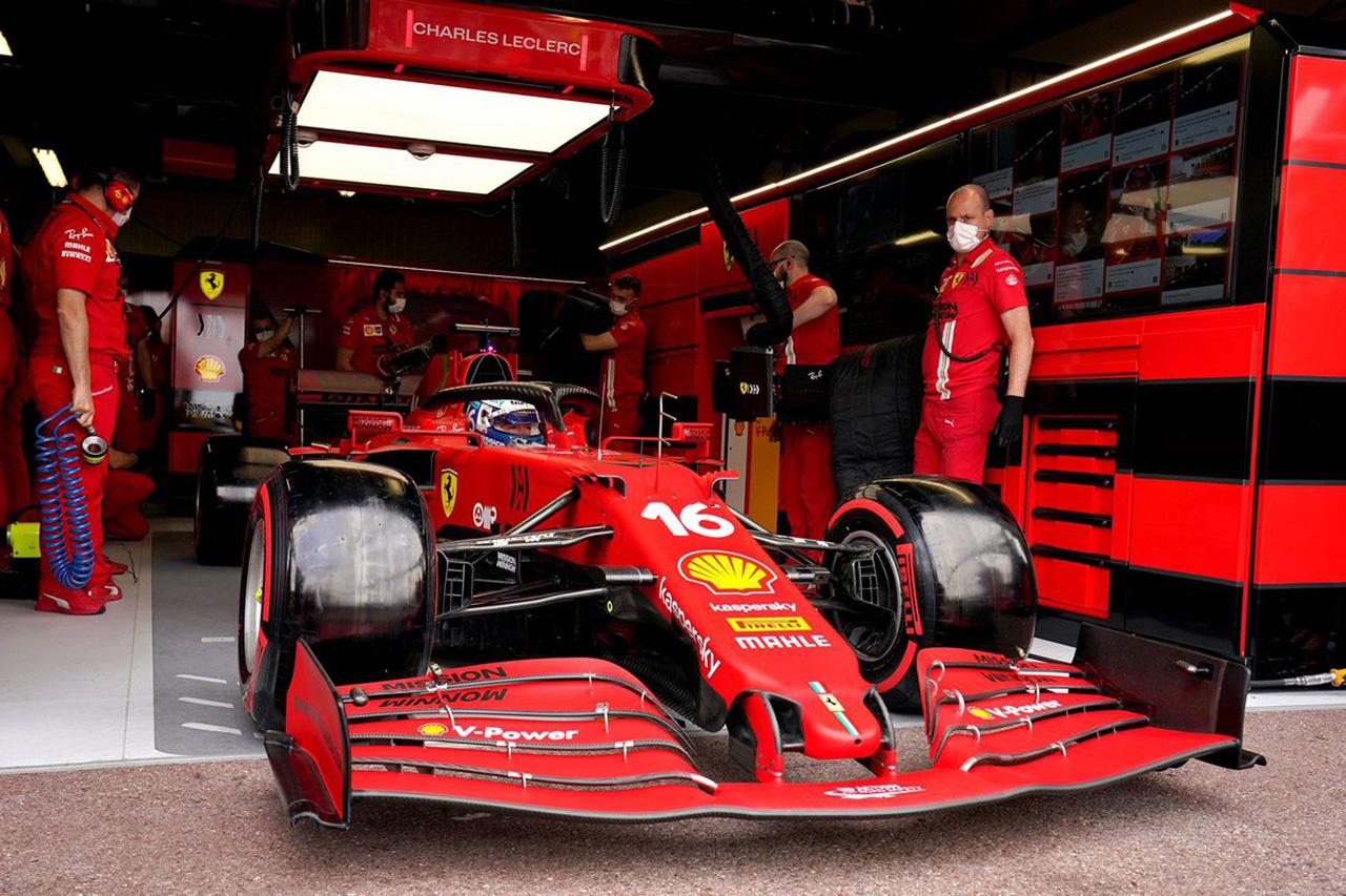シャルル・ルクレール、マシンに変更なしでポールポジションが確定 / F1モナコGP 決勝