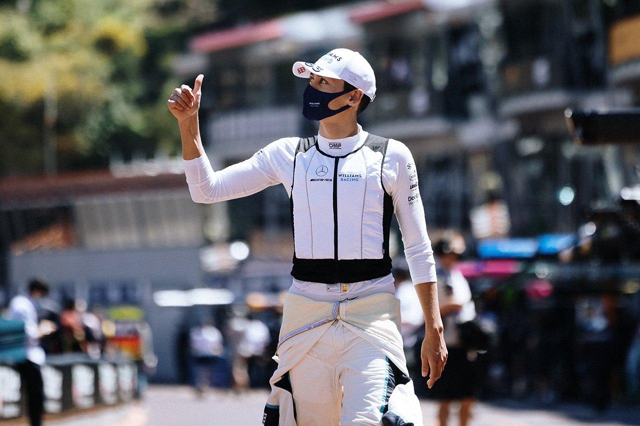 ジョージ・ラッセル 「アルファタウリを倒しての15番手はベストな結果」 / ウィリアムズ F1モナコGP 予選