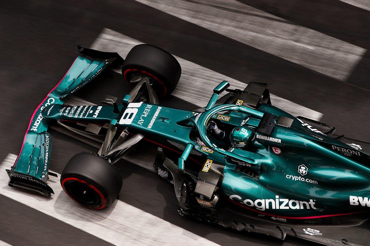 ランス・ストロール 「すべてをまとめればポイント争いに絡める」 / アストンマーティン F1モナコGP 予選