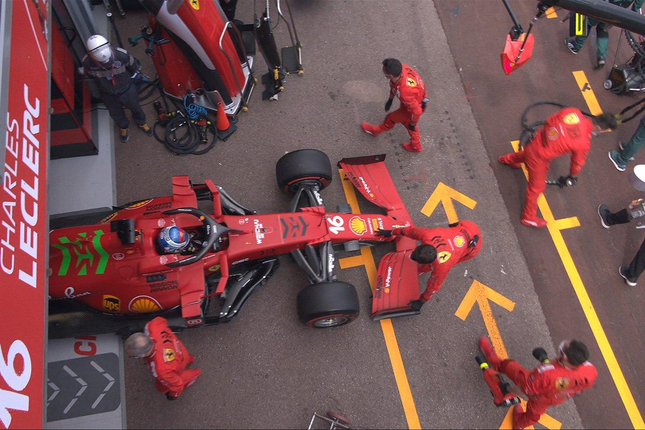 シャルル・ルクレール、決勝前にまさのギアボックストラブルで出走断念 / F1モナコGP 決勝