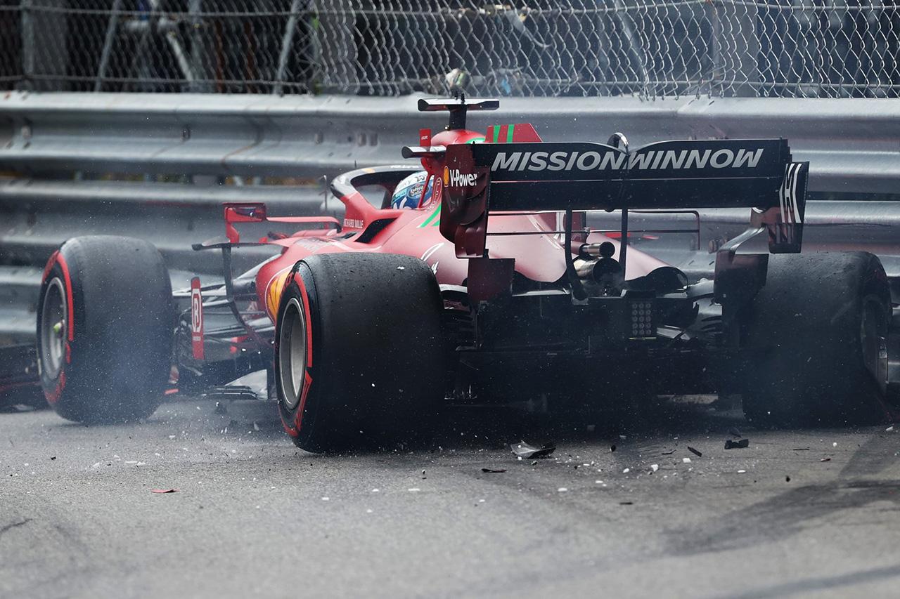 メルセデスF1代表 「ルクレールが故意にクラッシュしたとは思わない」 / F1モナコGP 予選