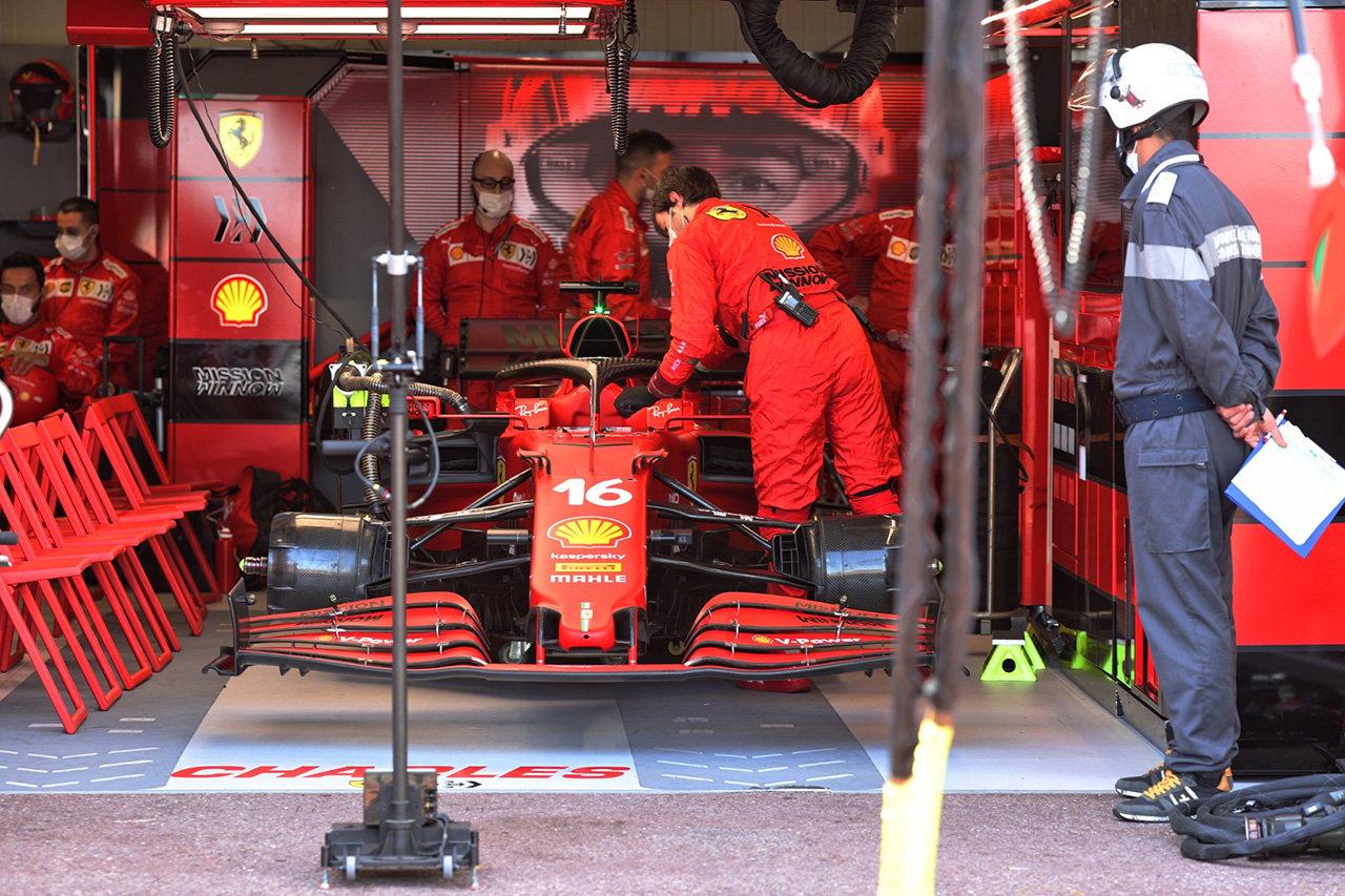 フェラーリF1 「ルクレールのドライブシャフトはチェックしていなかった」 / F1モナコGP 決勝