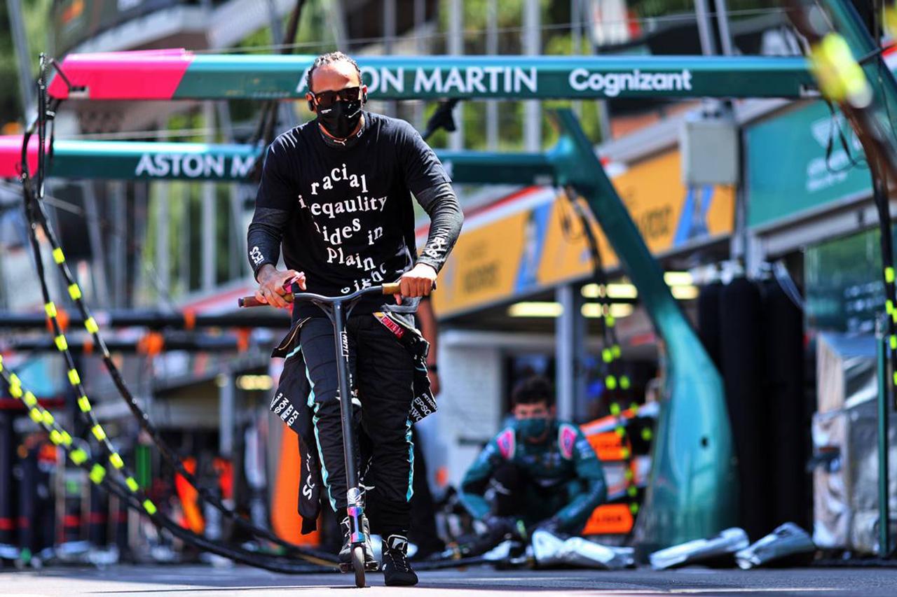 ルイス・ハミルトン、首位陥落「チームとしてパフォーマンスが低かった」 / メルセデス F1モナコGP 決勝