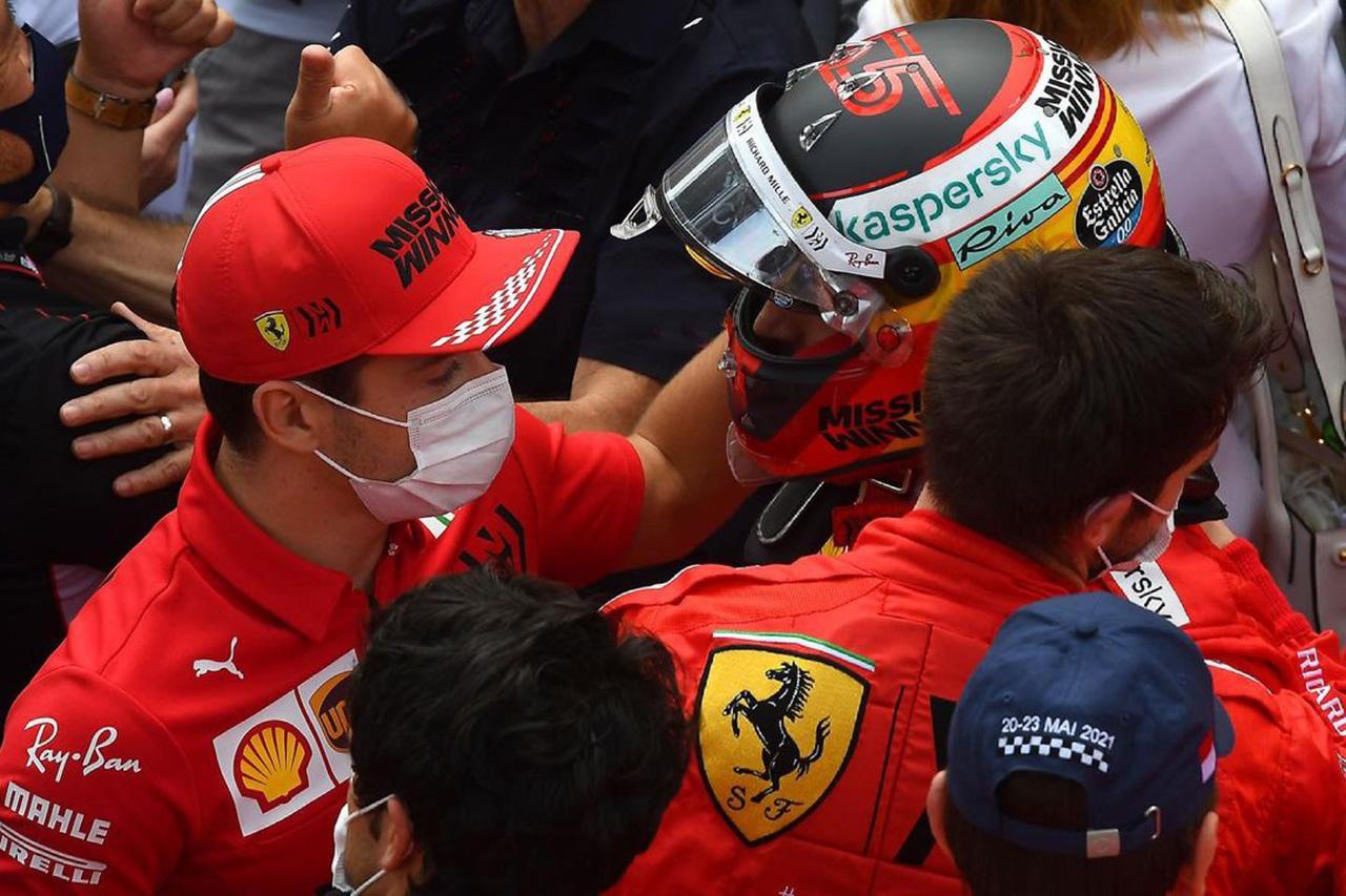悲劇のシャルル・ルクレール、サインツを祝福「彼とチーム全体のために嬉しい」 / フェラーリ F1モナコGP 決勝