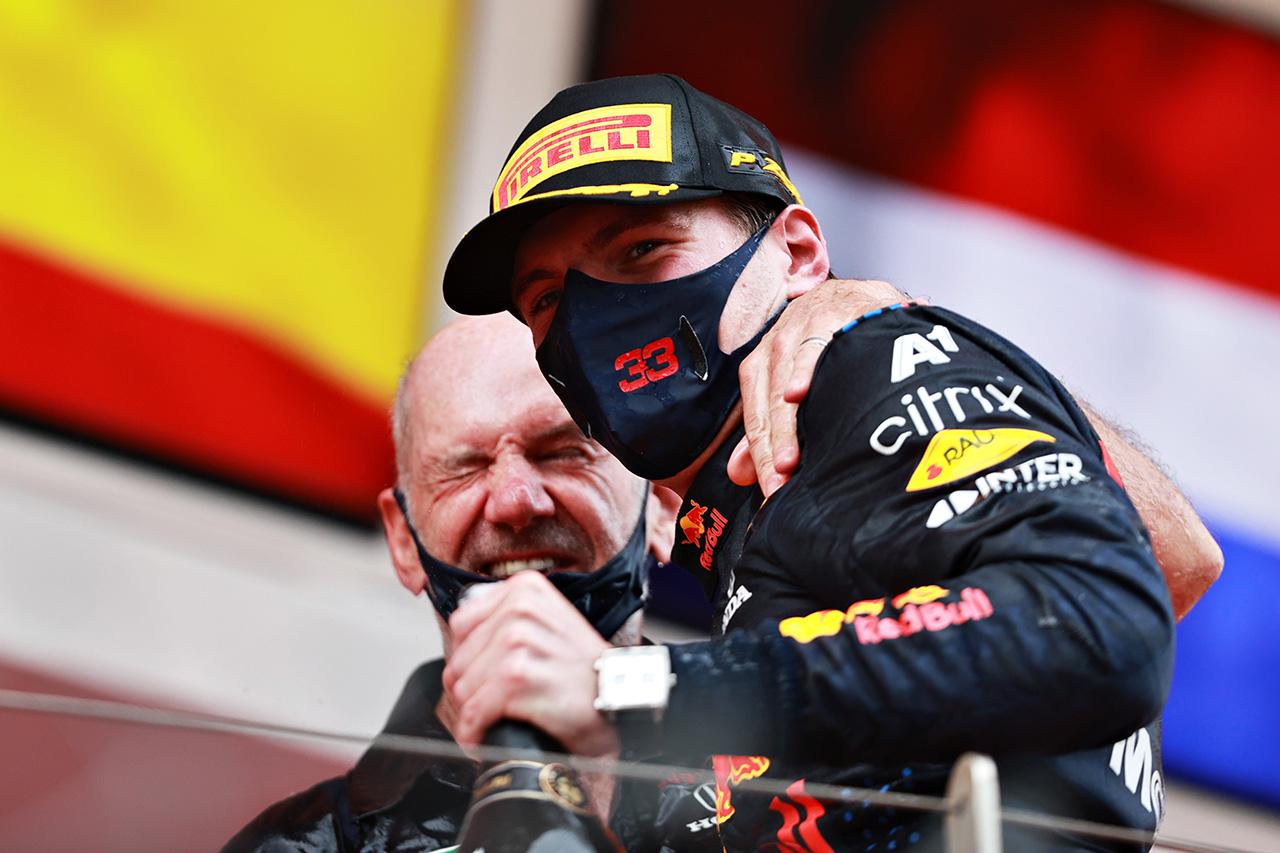 マックス・フェルスタッペン、モナコ初優勝「ホンダも含めたチームでの勝利」 / レッドブル・ホンダ F1モナコGP 決勝
