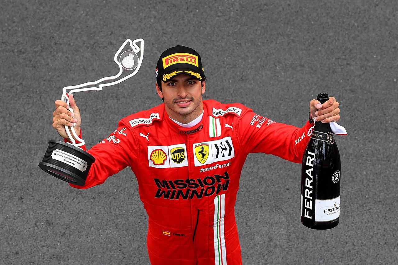 カルロス・サインツ、2位表彰台も複雑「勝てるペースがあった」 / フェラーリ F1モナコGP 決勝