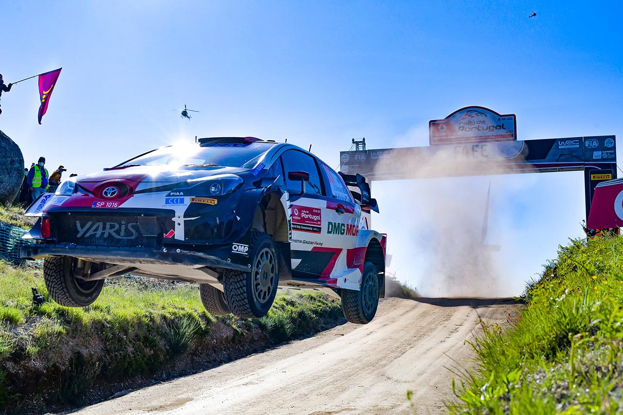 WRC 第4戦 ラリー・ポルトガル:トヨタのエバンスが今季初優勝!