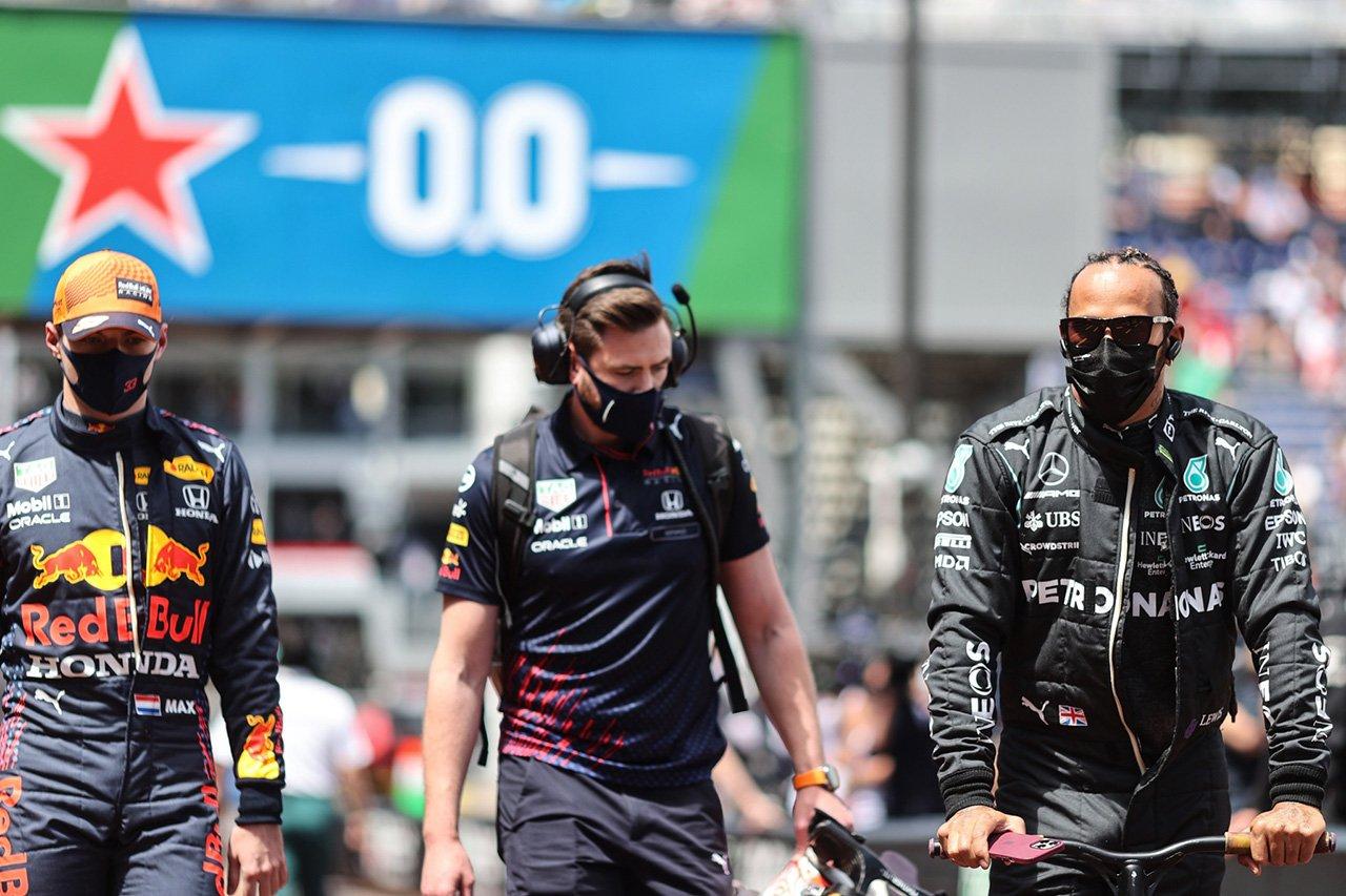 レッドブル・ホンダF1のフェルスタッペン、ハミルトンに返報「行動は常に言葉よりも雄弁」 / F1モナコGP 決勝記者会見