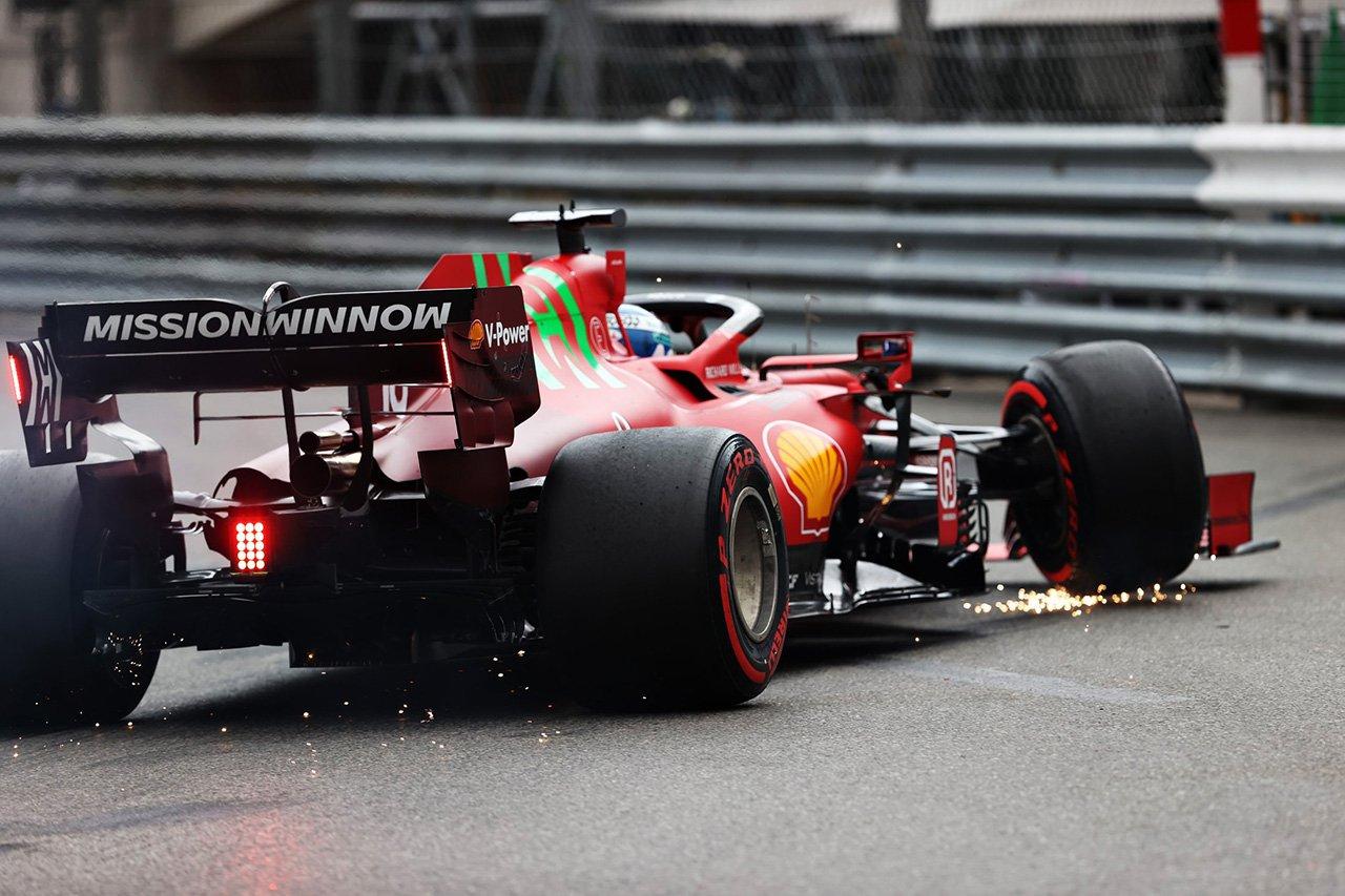 フェラーリF1 「ルクレールのドライブシャフト故障は予選クラッシュが原因」 / F1モナコGP
