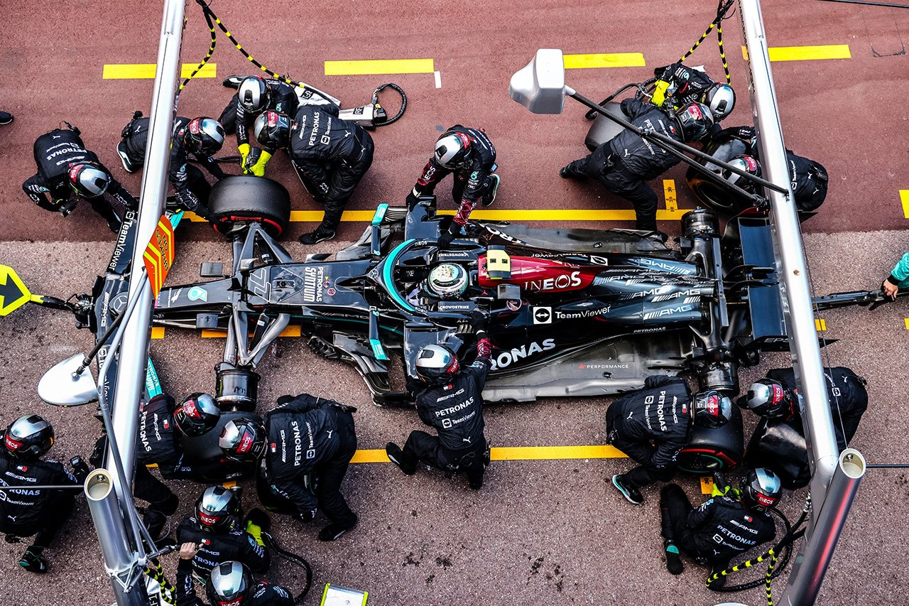 フェラーリF1、レース後にバルテリ・ボッタスのホイール取り外しに協力 / F1モナコGP