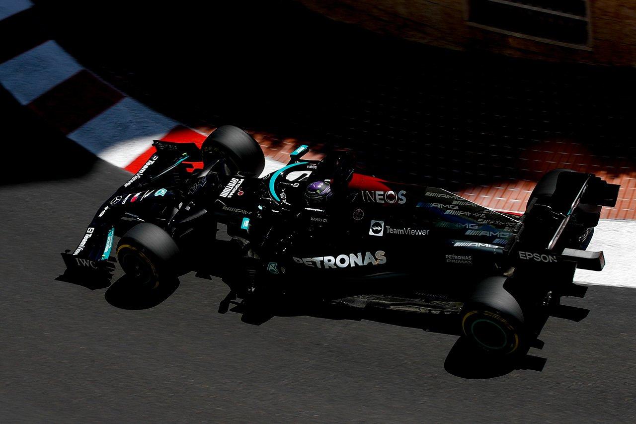 メルセデスF1 「アンダーカットしかハミルトンに勝算はなかった」 / F1モナコGP 決勝