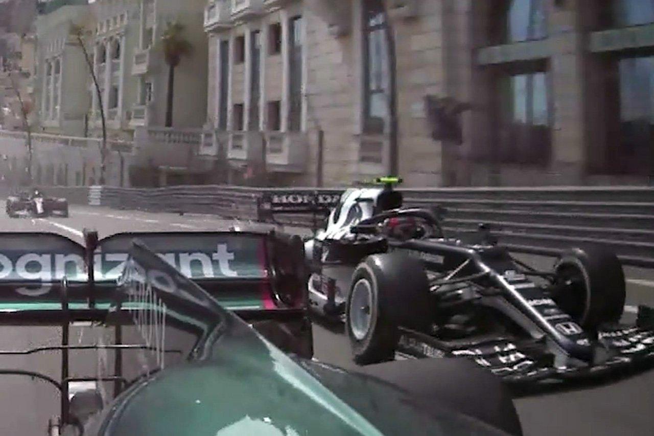 ピエール・ガスリー 「ベッテルが残したスペースは2センチだった」 / F1モナコGP