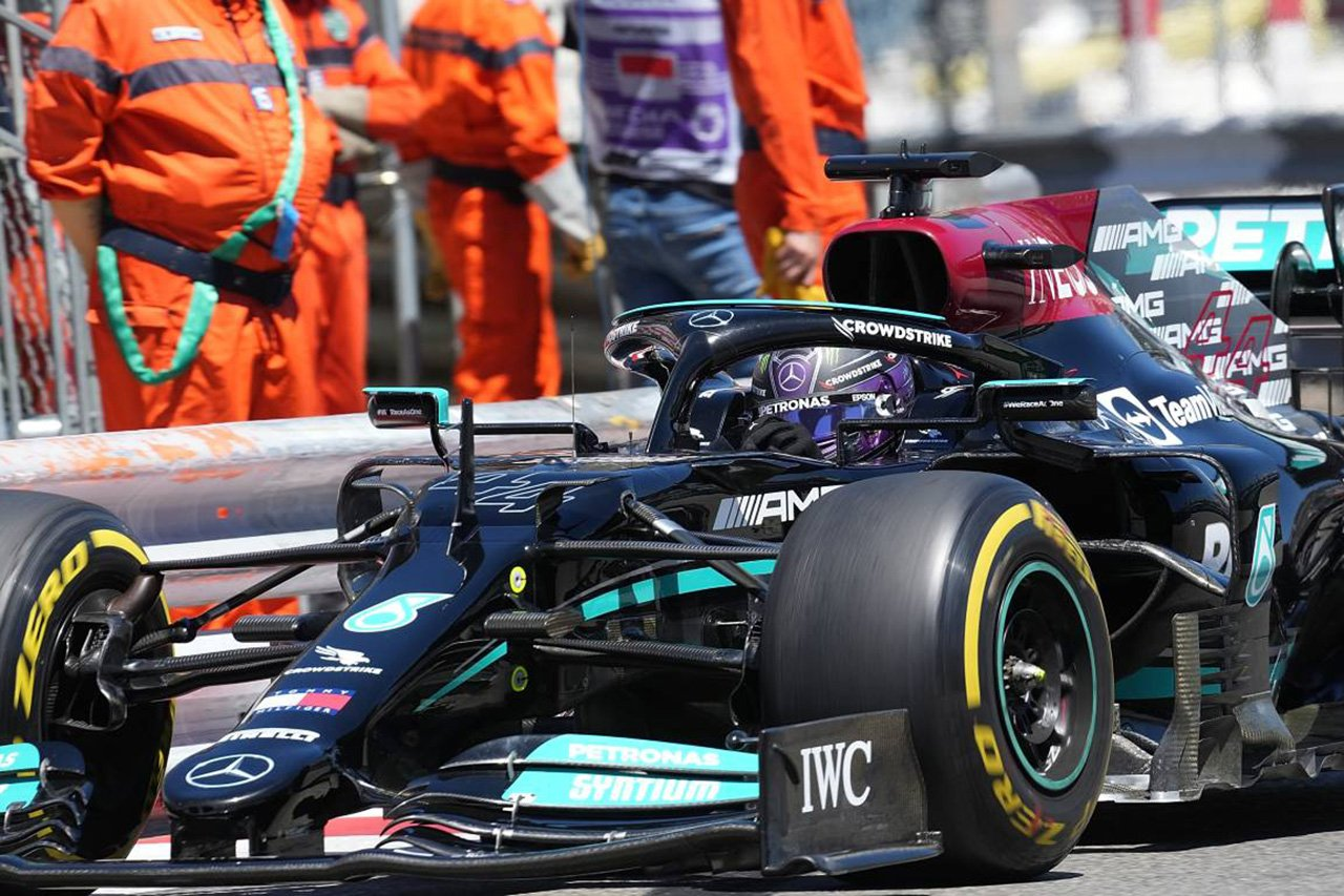 """メルセデスF1、ルイス・ハミルトンがモナコで""""遅かった""""理由を説明"""