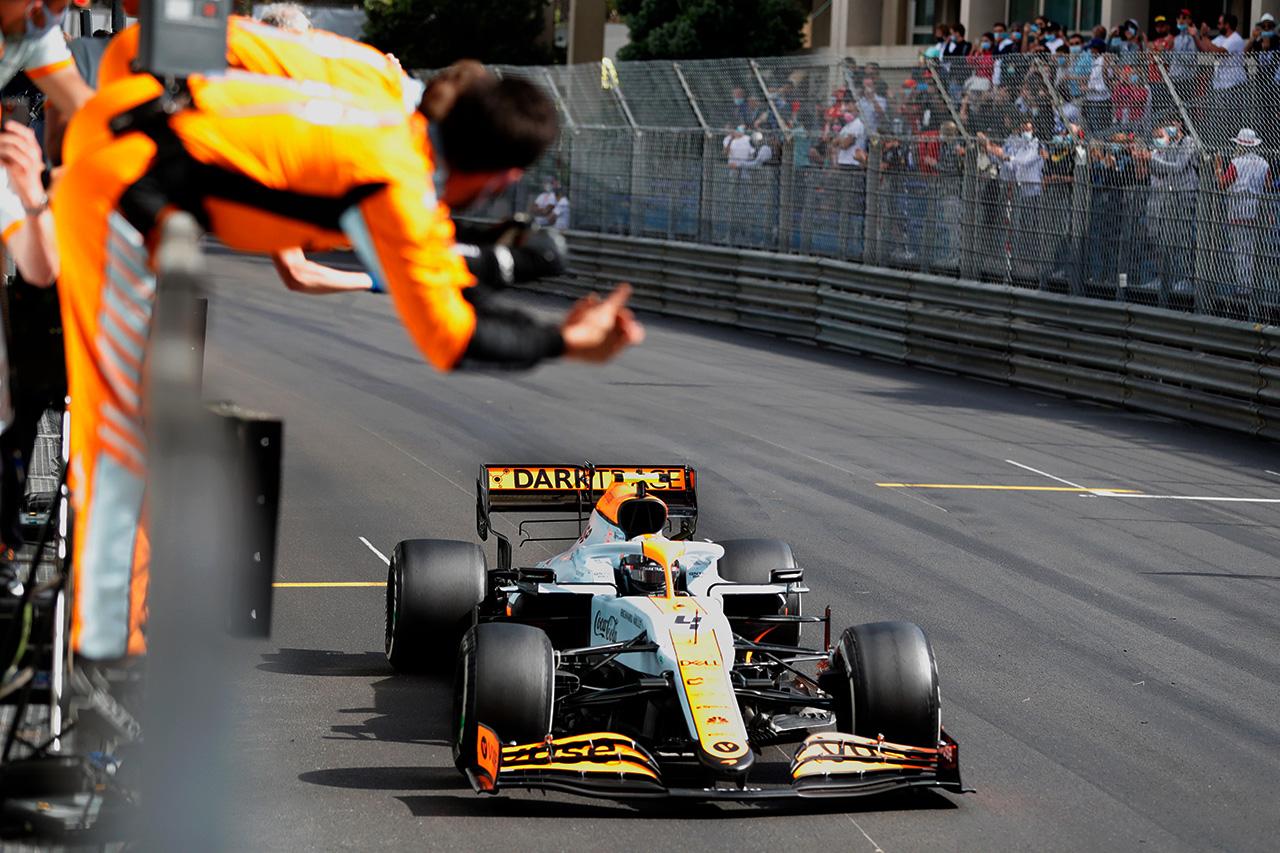 マクラーレンF1 「モナコでの表彰台ペースはまったくの予想外」