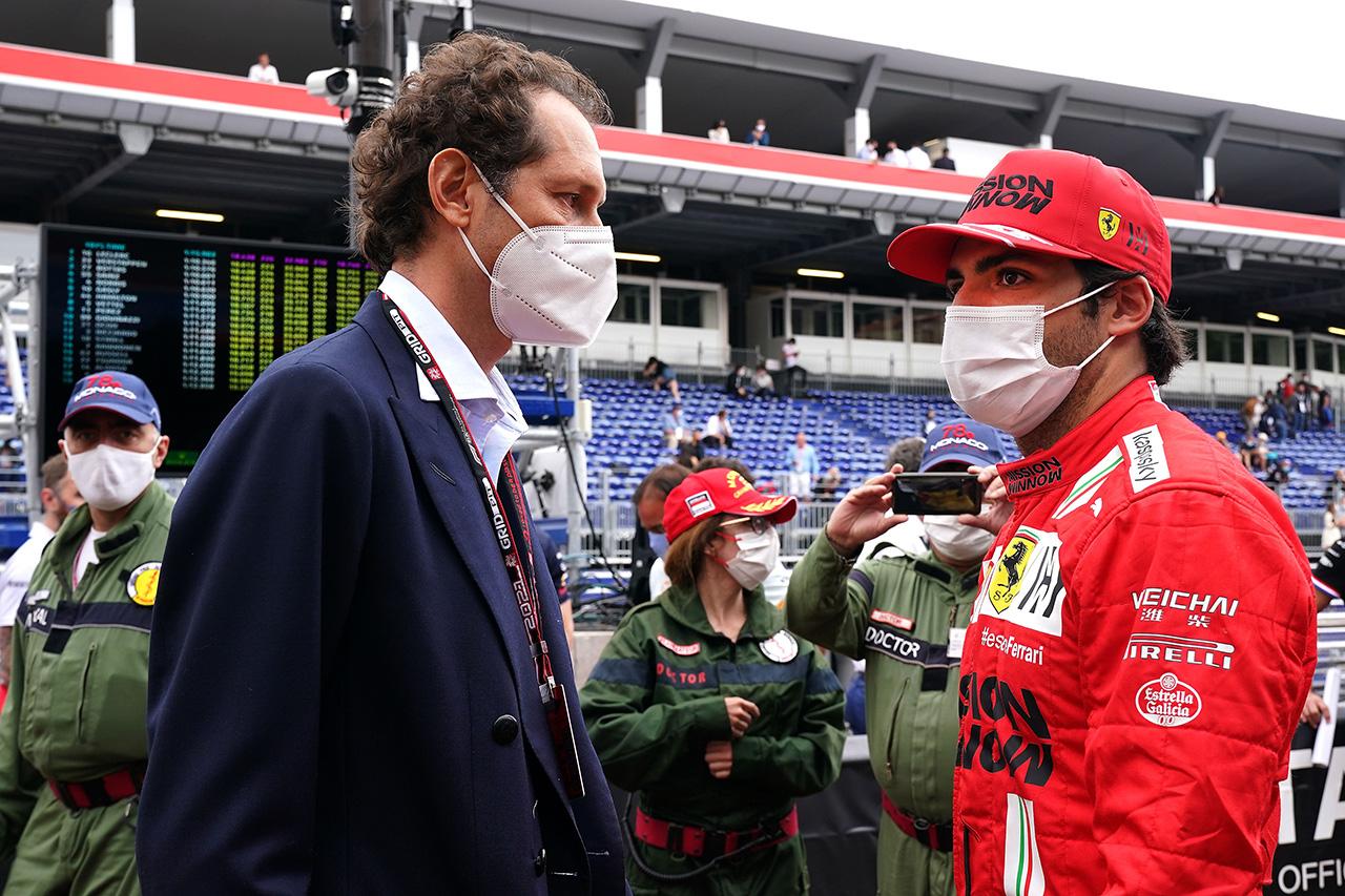 カルロス・サインツ 「フェラーリF1と一緒に勝てるチームを作りたい」