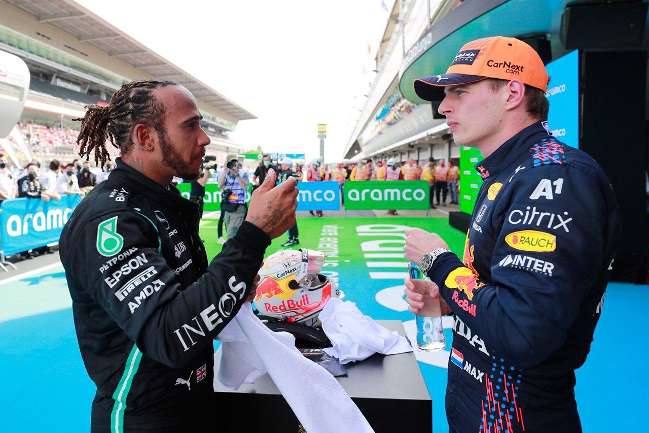 F1王者ルイス・ハミルトン 「フェルスタッペンとの幼稚な舌戦に興味はない」
