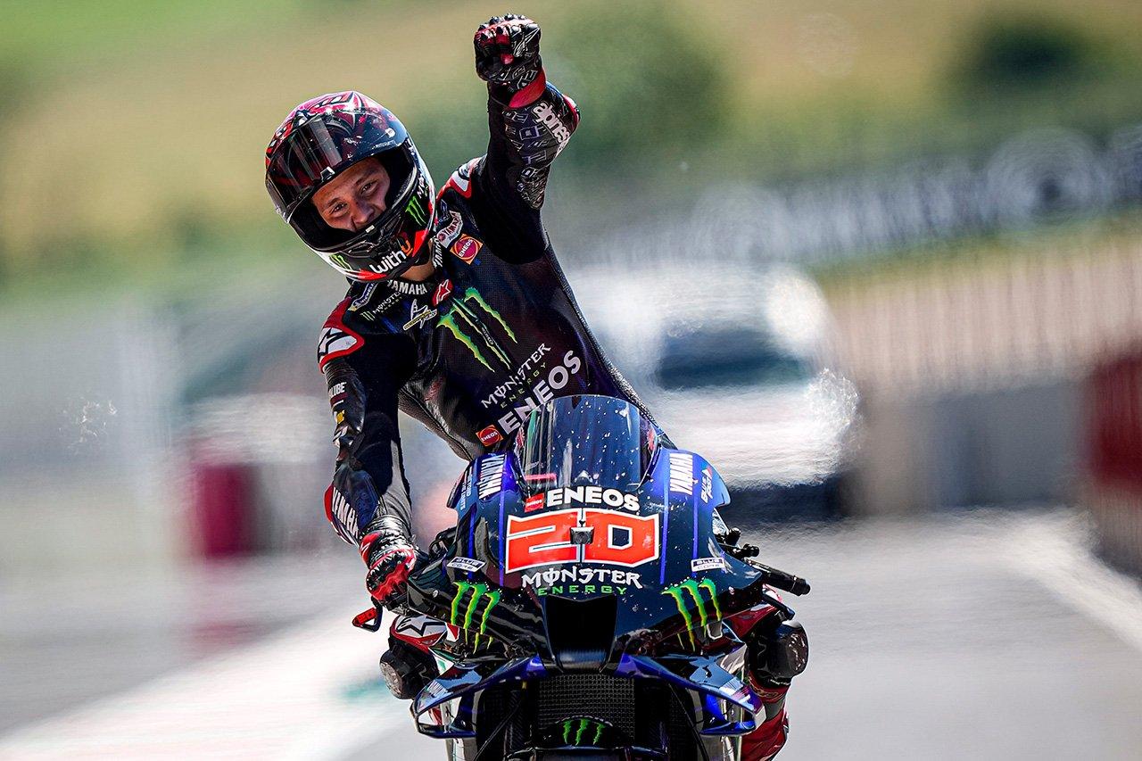 MotoGP イタリアGP:ファビオ・クアルタラロが今季3勝目