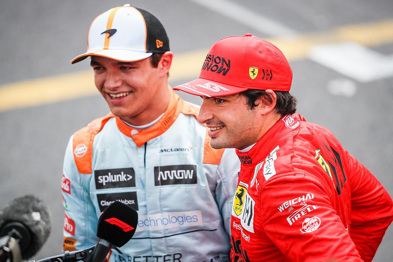 カルロス・サインツ 「ランド・ノリスはマクラーレンF1をトップに導く」
