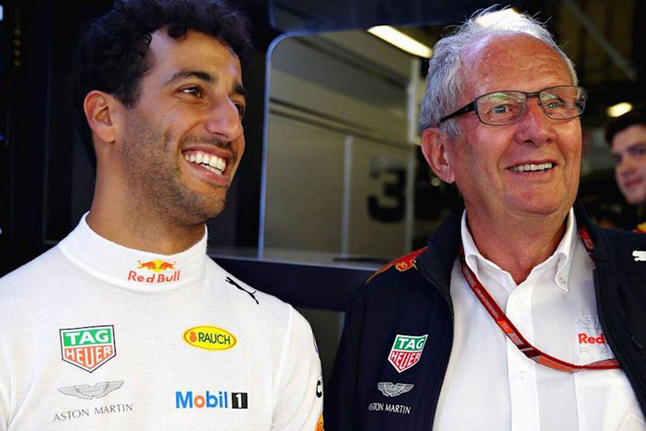 ダニエル・リカルド 「今F1にいられるのはヘルムート・マルコのおかげ」