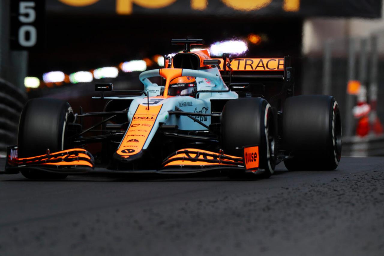 マクラーレンF1のダニエル・リカルド、失望のモナコGP後にシミュレーターで走り込み