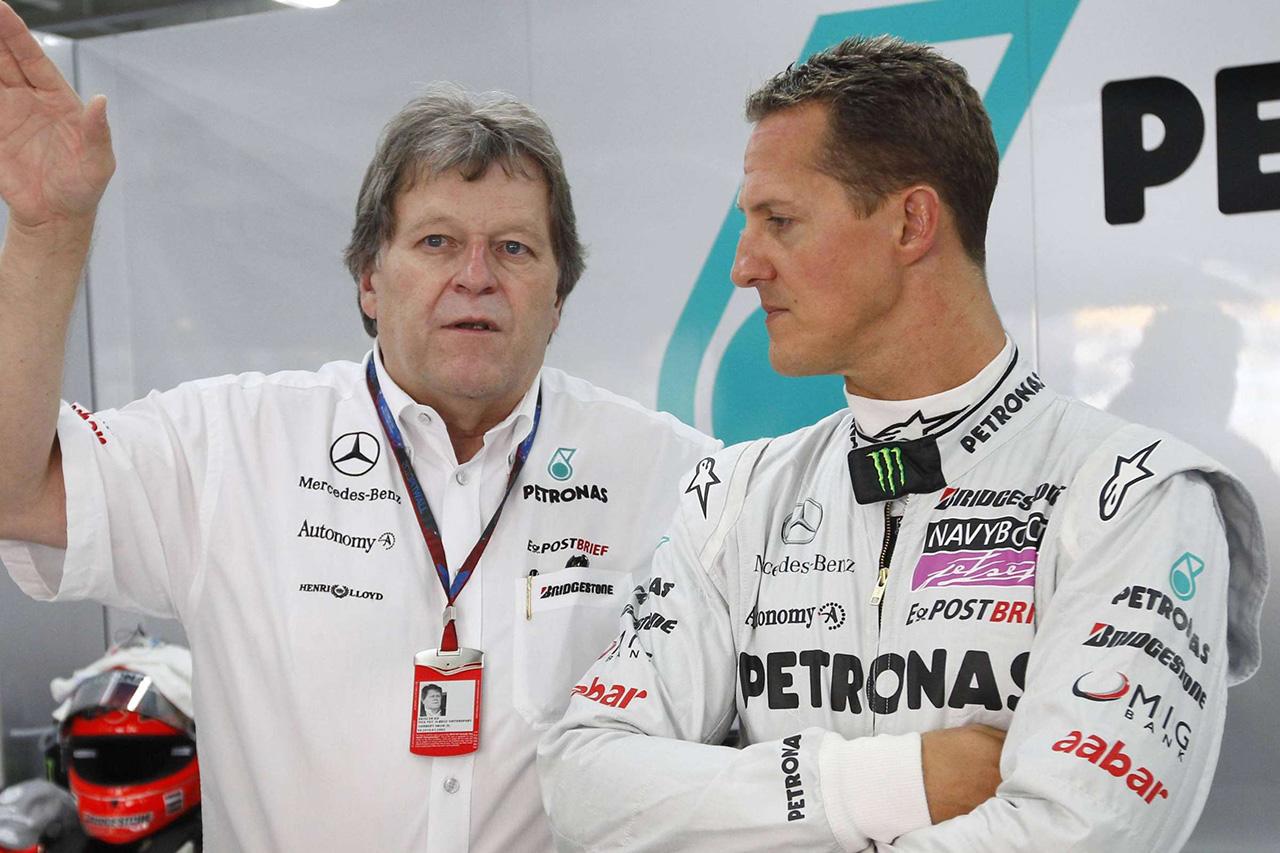 「ミハエル・シューマッハは成功したF1チーム代表になっていたはず」と元メルセデスF1責任者