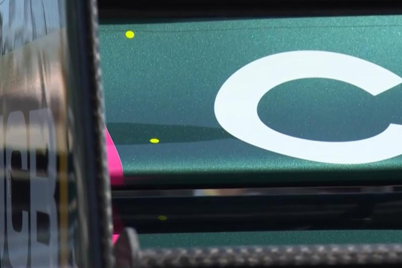 """F1:イエローのドットステッカーでリアウイングの""""たわみ""""を監視"""