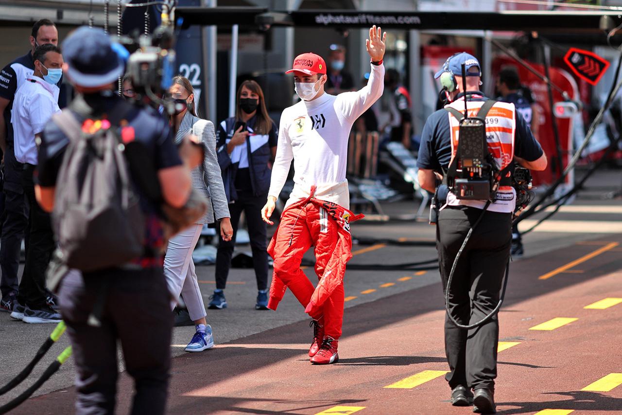 シャルル・ルクレール 「モナコの失望から気持ちを切り替えている」 / フェラーリ F1アゼルバイジャンGP 木曜記者会見