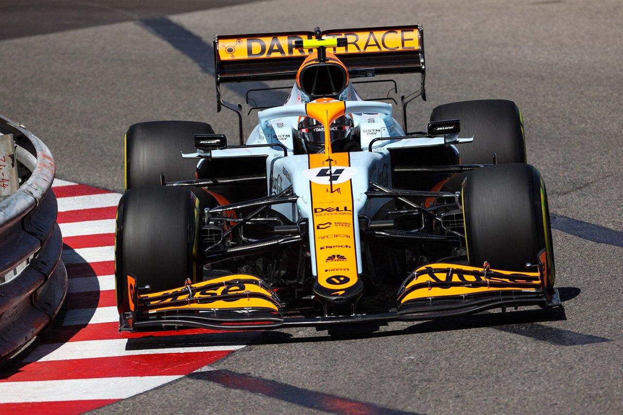 マクラーレンF1のランド・ノリス 「まだMCL35Mを意のままに操ることができていない」 / F1アゼルバイジャンGP 木曜記者会見