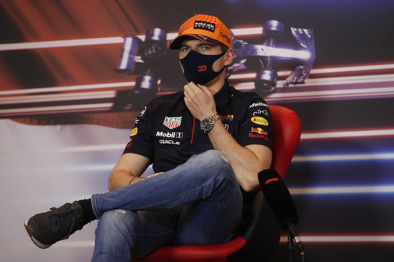 レッドブル・ホンダF1のマックス・フェルスタッペン 「ハミルトンとの心理戦に興味はない」 / F1アゼルバイジャンGP 木曜記者会見