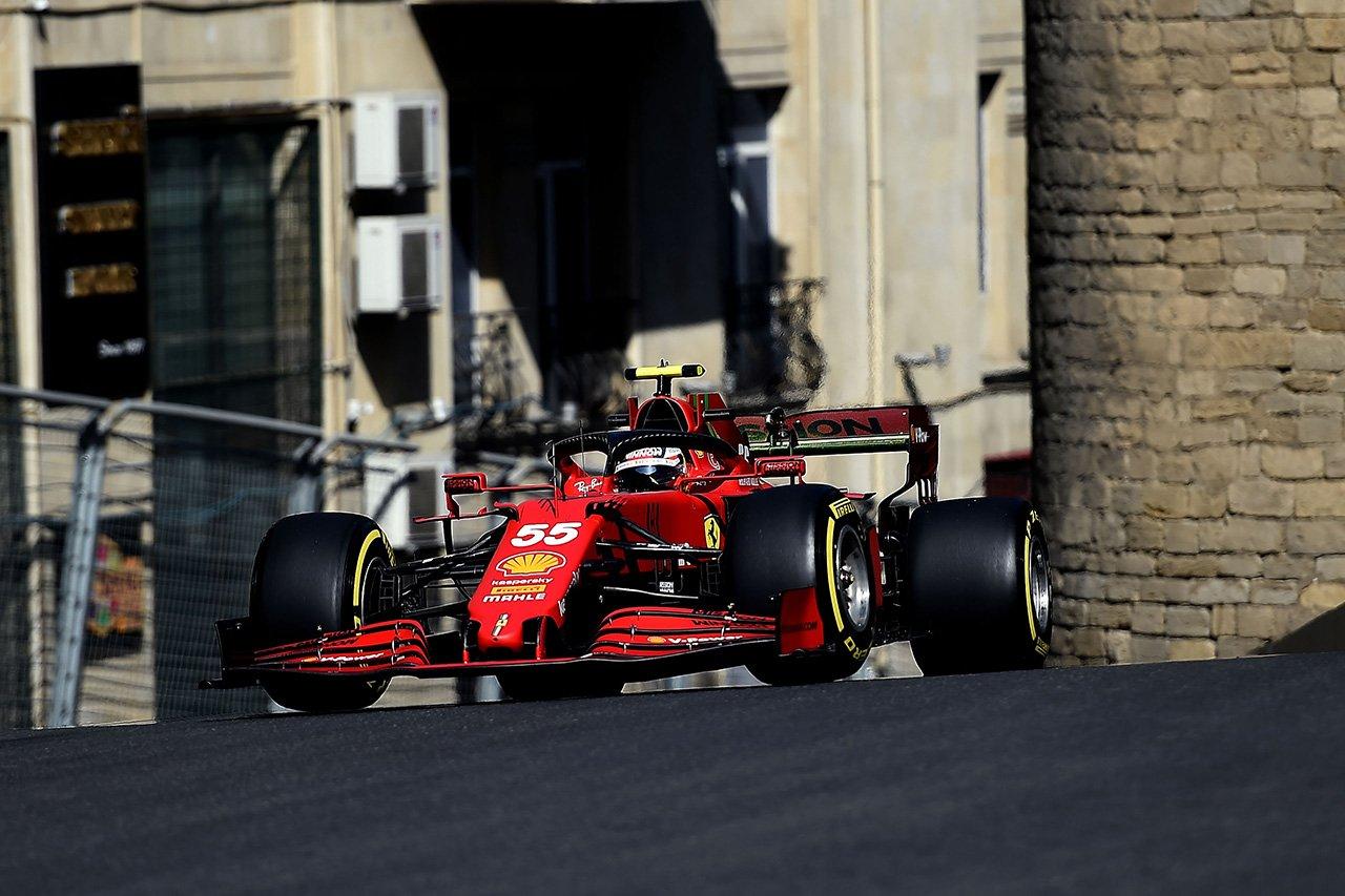 フェラーリF1、予想外の好ペースも「敵はあくまでマクラーレン」 / F1アゼルバイジャンGP 金曜フリー走行