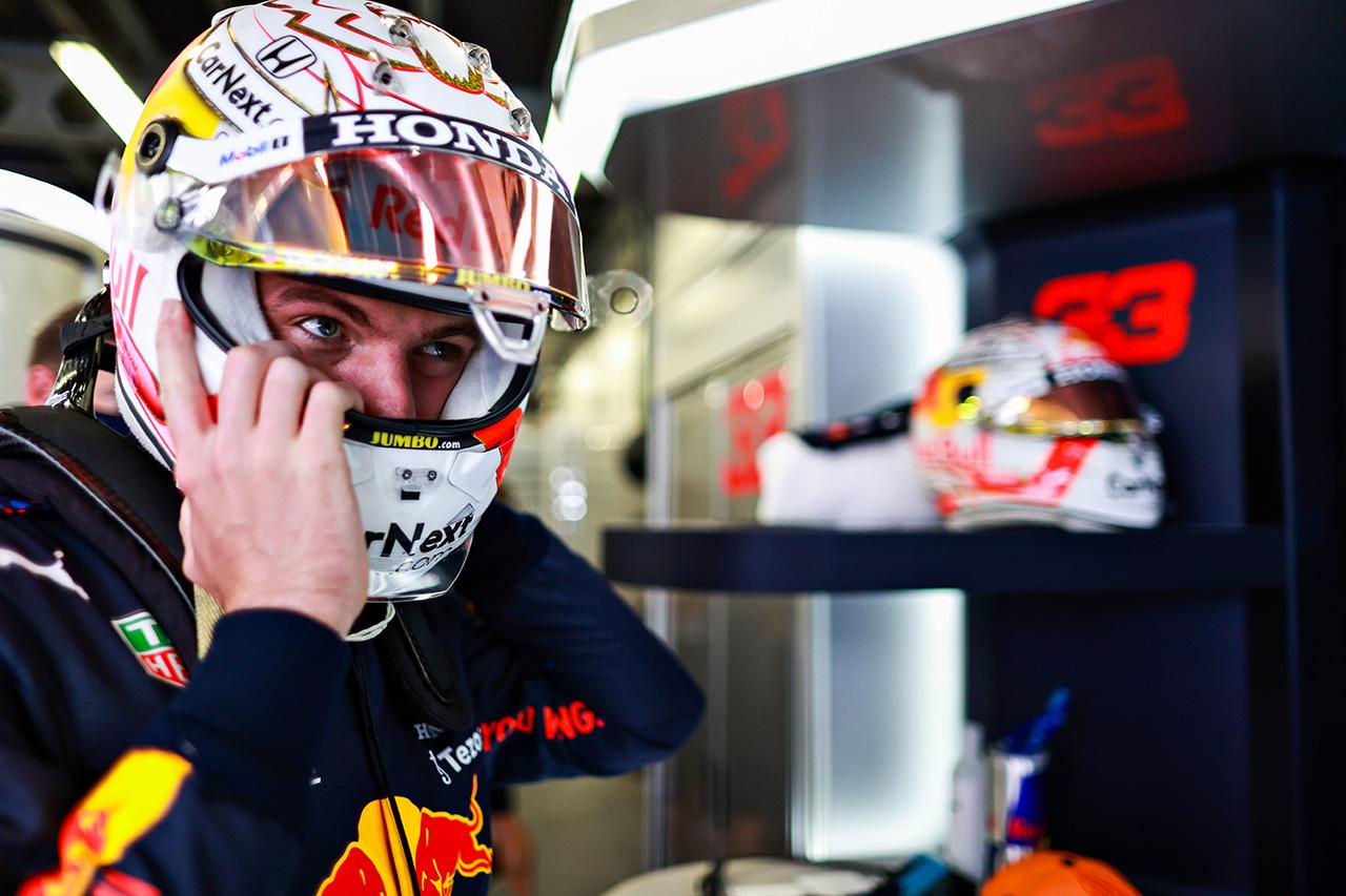 マックス・フェルスタッペン 「やりたいことはすべてできた。不満はない」 / レッドブル・ホンダ F1アゼルバイジャンGP 金曜フリー走行インタビュー